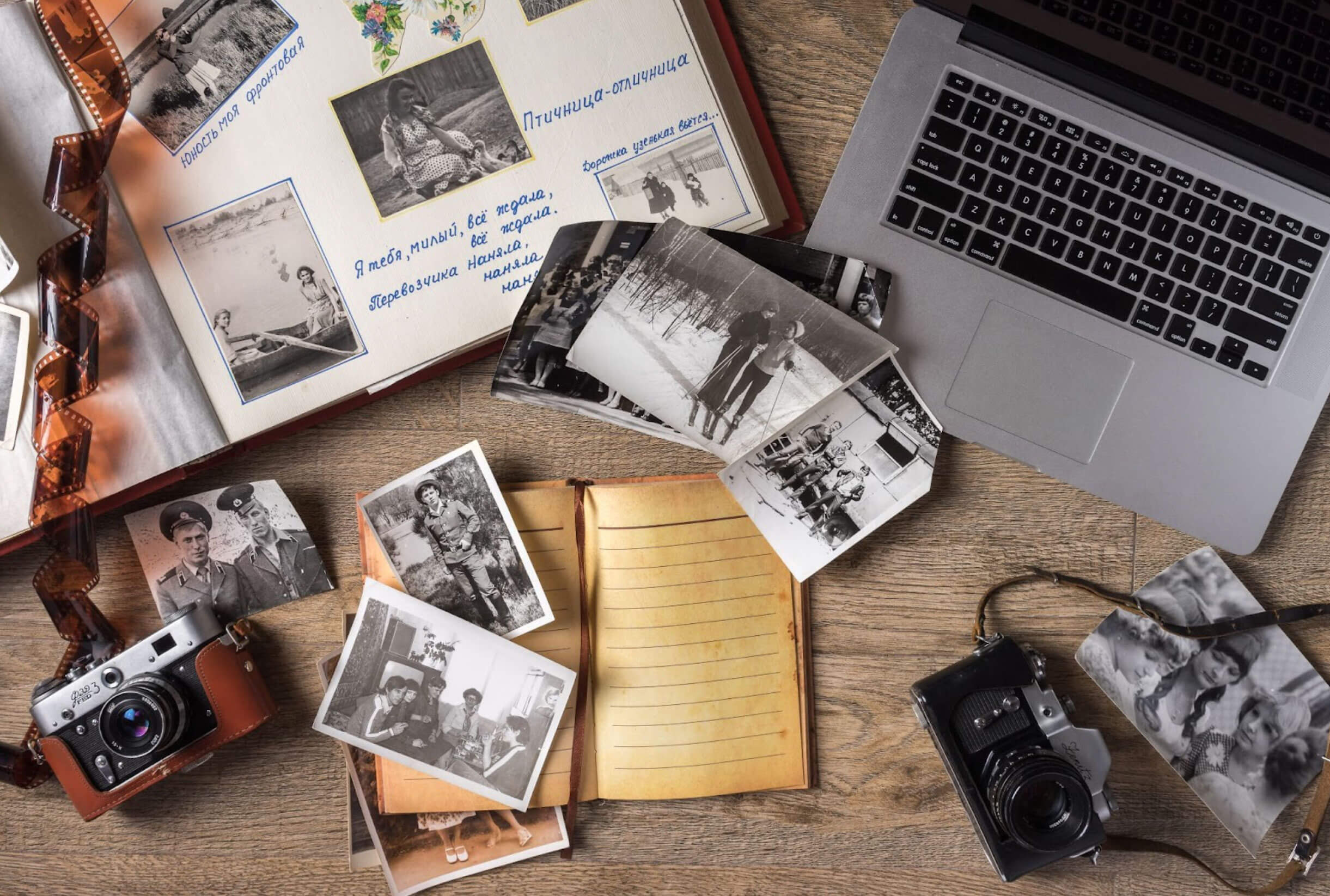 If Photos Could Talk! How to Use Photographs to Tell Stories